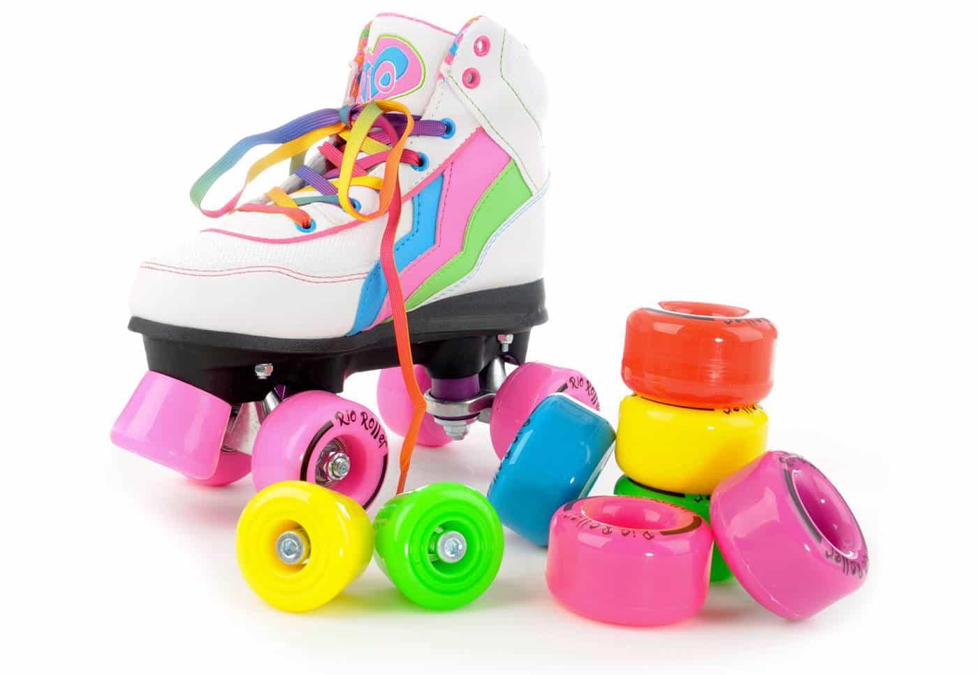 Ersatz Rollen für Roller Skates