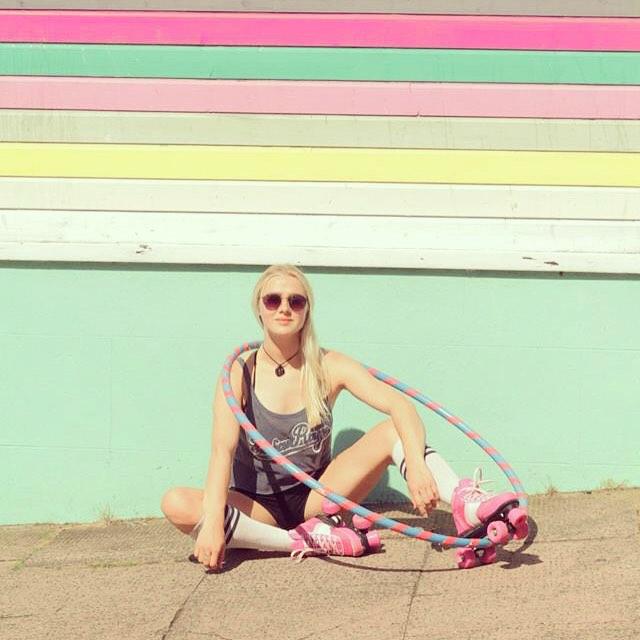 ©Rookie Roller Skates Forever pink/white