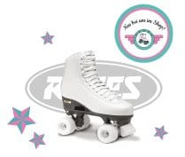 NEW IN: ROCES ROLLER SKATE STRAHLT IN WEISS