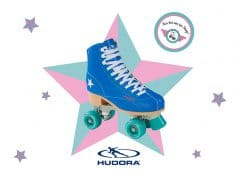 NEW IN: HUDORA ROLLER DISCO IN BLUE/GREEN