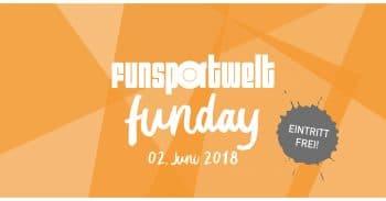 EVENT TIPP: FUNSPORTWELT FUNDAY 2018