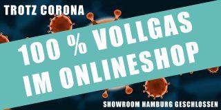 Onlineshop gibt Vollgas – trotz des Virus!